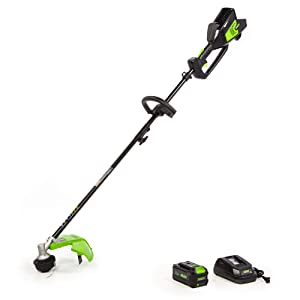 Greenworks 14-Inch 40V Attachment Capable String Trimmer, 6AH Battery and Charger Included ST-140-A