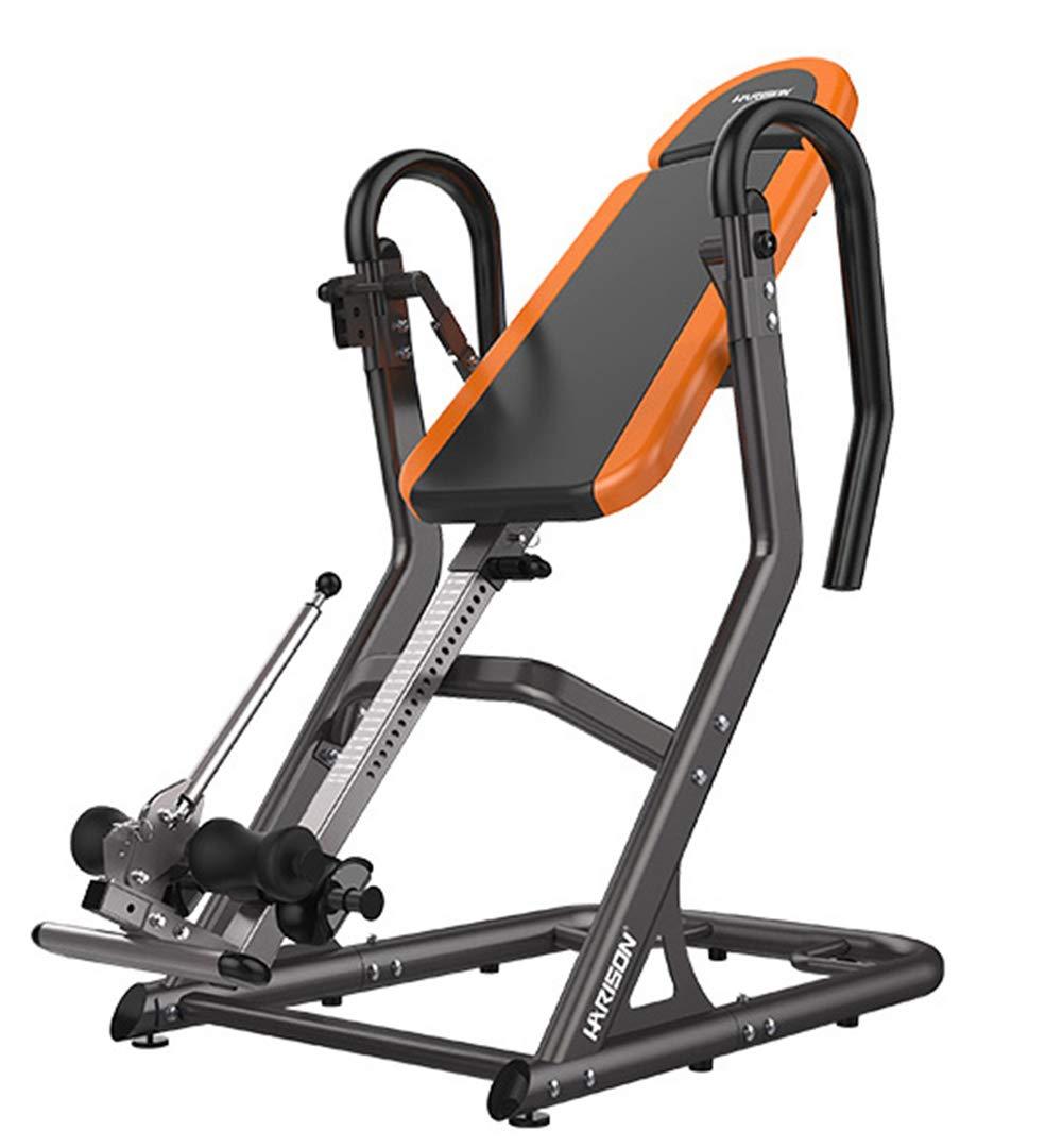 Big & Tall Heat & Massage Inversion Table-Heavy Duty bis 100 KG Orange