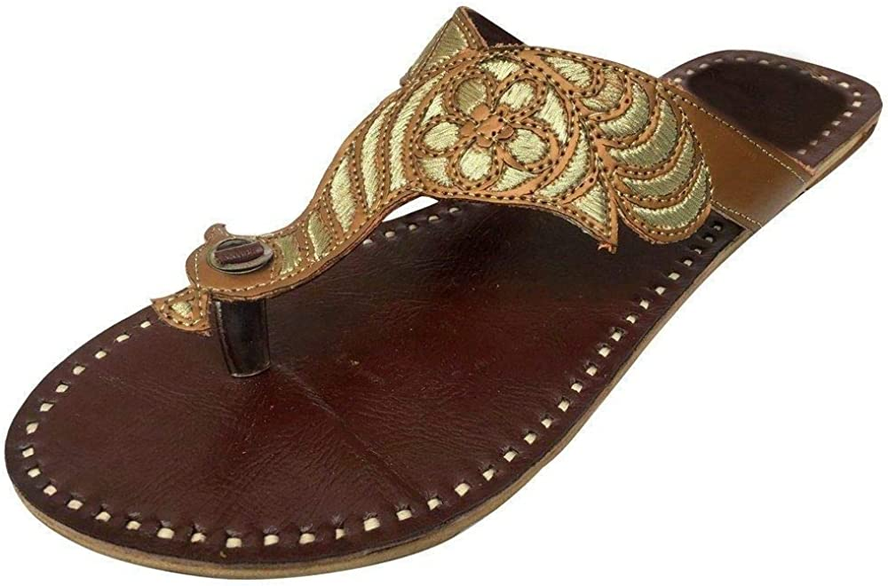 Details about  /Womens pink leather handmade slippers ladies slides shoes sandals indian flats