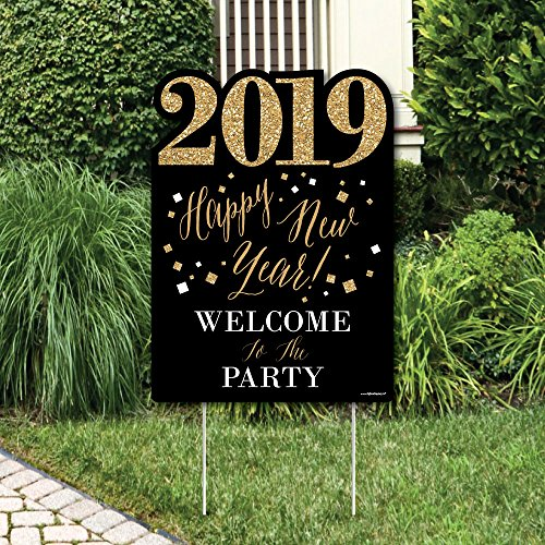 New Year's Eve - Gold - Party Decorations - 2019 New Years E
