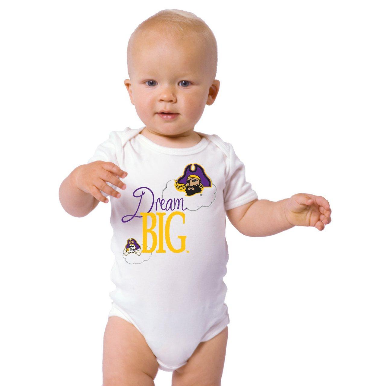 史上最も激安 East Carolina Pirates Dream Pirates Big Baby B073RYGGC1 Onesie Newborn B073RYGGC1 Newborn, 長野市:7bc6e211 --- svecha37.ru