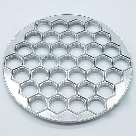 Molde para dumpling, 37 agujeros, multifuncional, para hacer masa 25 * 0.55cm
