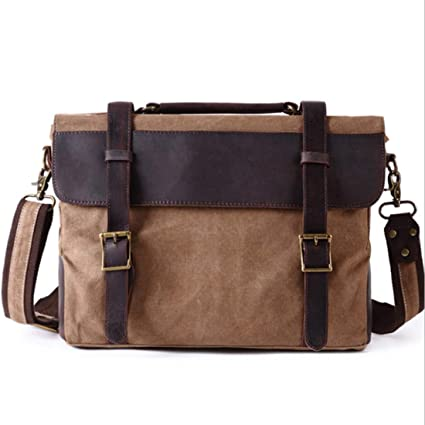 bc167aa22a18 Amazon.com: KRPENRIO Office Vintage Style Backpack Handbag Casual ...