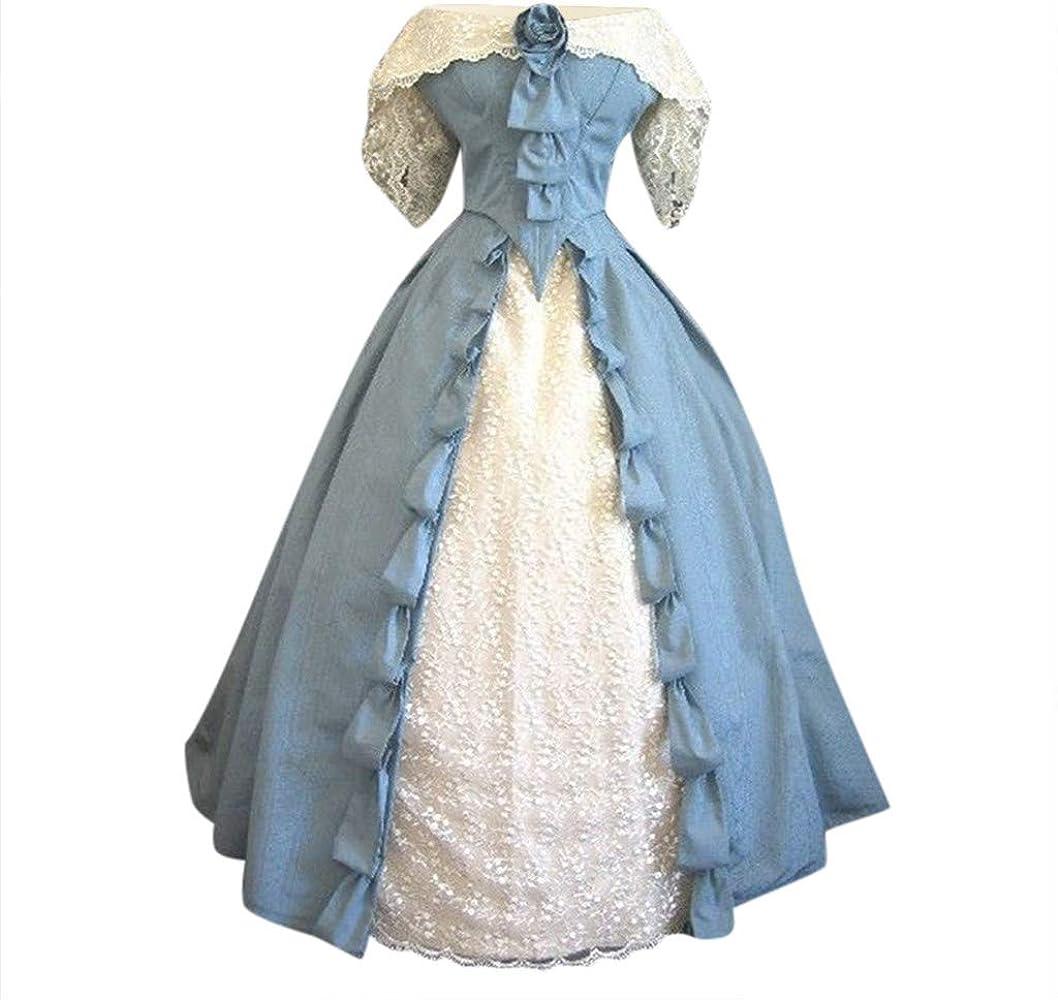 Goosun Vestidos Medieval Disfraz Fiesta Mujer Renacimiento Vintage ...