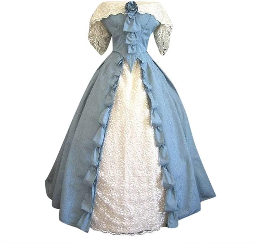 Goosun Vestidos Medieval Disfraz Fiesta Mujer Renacimiento ...