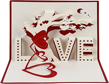 Anniversary Wedding Handmade Love Card ~ Valentines