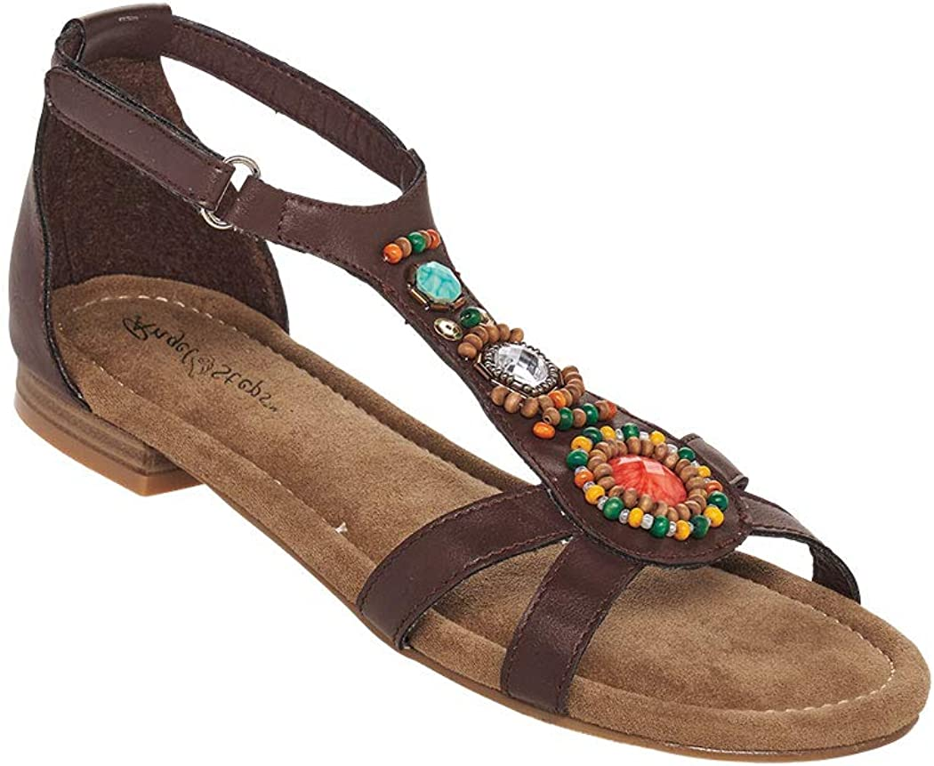 70s Outfits – 70s Style Ideas for Women AngelSteps Womens Adult Lisa Sandals $38.99 AT vintagedancer.com