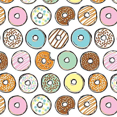 Sweet Donuts One More Bite Glossy Gift Wrapping Roll - 24