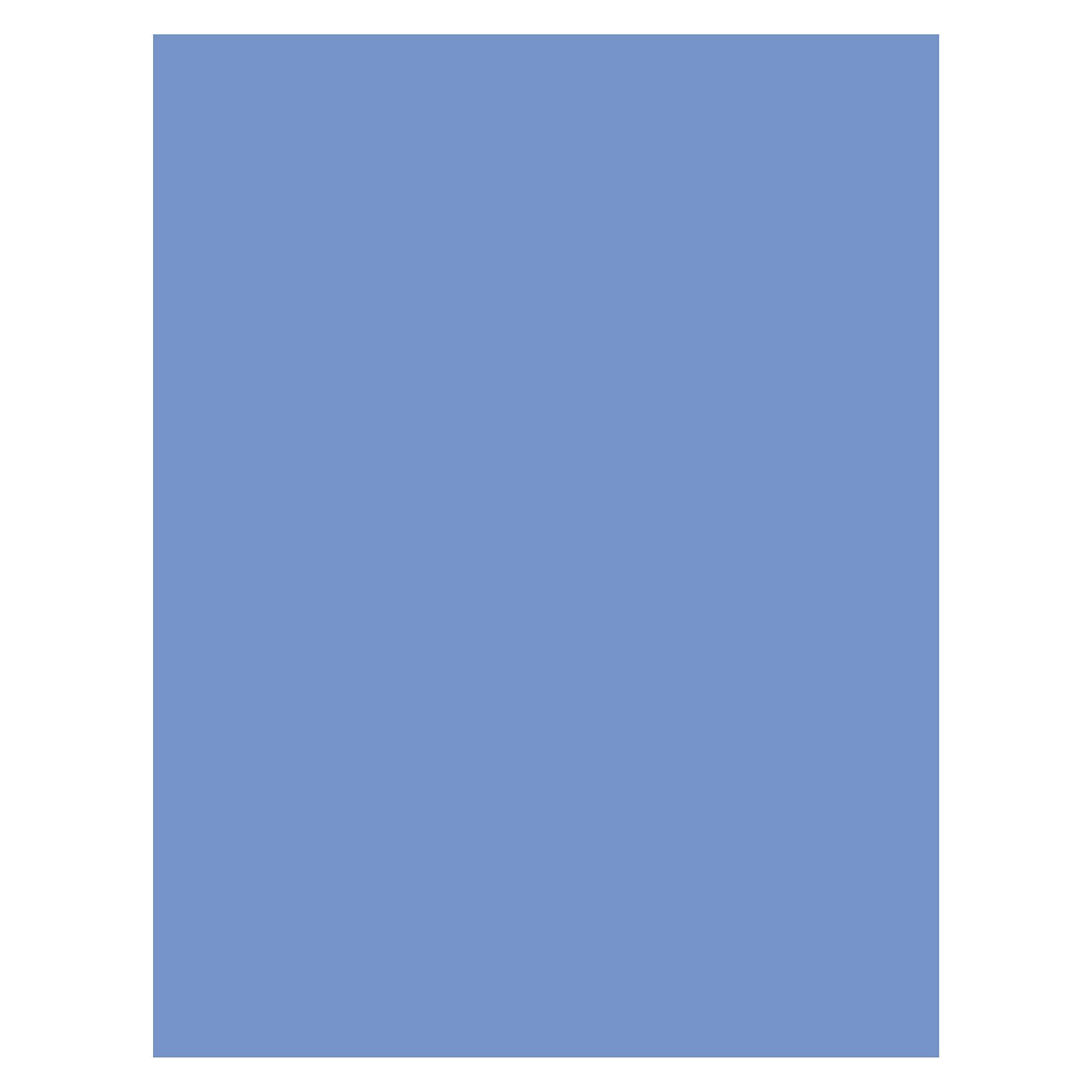 Bazzill Basics 300080 Cardstock, Serenity
