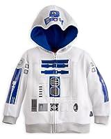 Disney Store Star Wars R2-D2 Costume Hoodie Sweatshirt Jacket Size Large 9/10