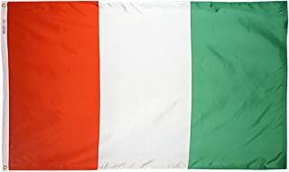 product image for Annin Flagmakers Model 194168 Ivory Coast Flag 3x5 ft. Nylon SolarGuard Nyl-Glo 100% Made in USA to Official United Nations Design Specifications.