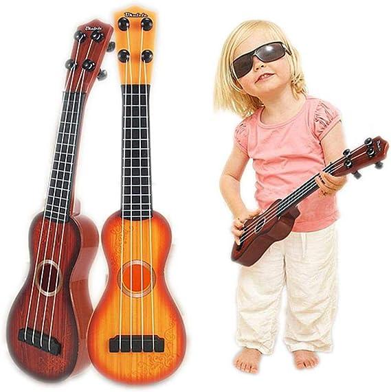 FOONEE – Guitarra educativa de Juguete de plástico para Guitarra ...