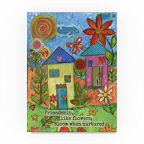 Trademark Fine Art Elizabeth Claire Friendship Like Flowers, 18x24-Inch