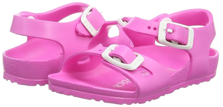 4b1c794a59e48 Birkenstock Rio Kids EVA Neon Pink EVA Infant Strap Sandals