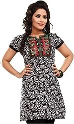 Unifiedclothes Women Fashion Casual Short Indian Kurti Tunic Kurta Top Shirt Dress 68D