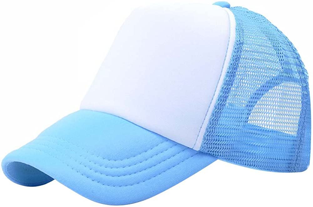 BOBORA Baby Boys Girls Kids Caps Peaked Baseball Hats Multi-Colors for 3-8Years