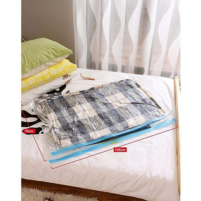 Bolsas, cerrar Bolsa de almacenamiento ropa al vacío bolsas de vacío, ropa aspirador vacío bolsa viaje Espacio ersp Arend 4 pcs/lot 1050x700mm: Amazon.es: ...