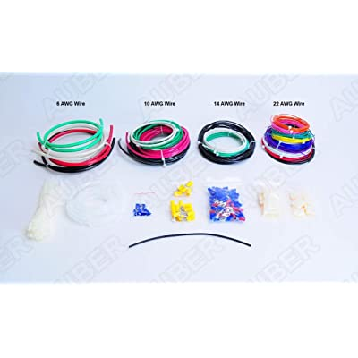 Control Panel DIY Wire and Wiring Fitting Kit: Automotive