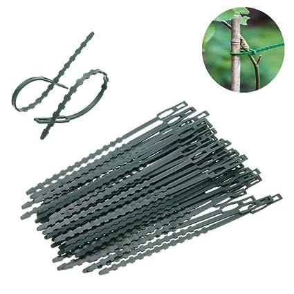 Amazon com : TXIN 100pcs Adjustable Plant Tie Twist Ties