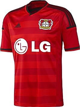Adidas - Camiseta, diseño de Bayer 04 Leverkusen: Amazon.es: Deportes y aire libre