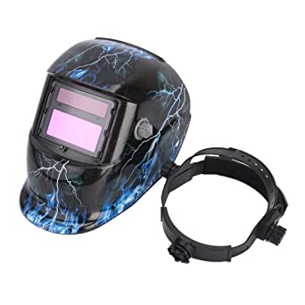 Casco de Soldadura de Oscurecimiento Automático Moderno Función de Amolado de Soldadores de Máscara de Energía