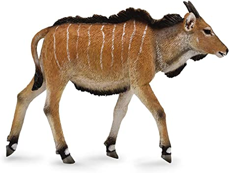 Authentic Hand Painted Model CollectA Wildlife Giant Eland Antelope Toy Figure