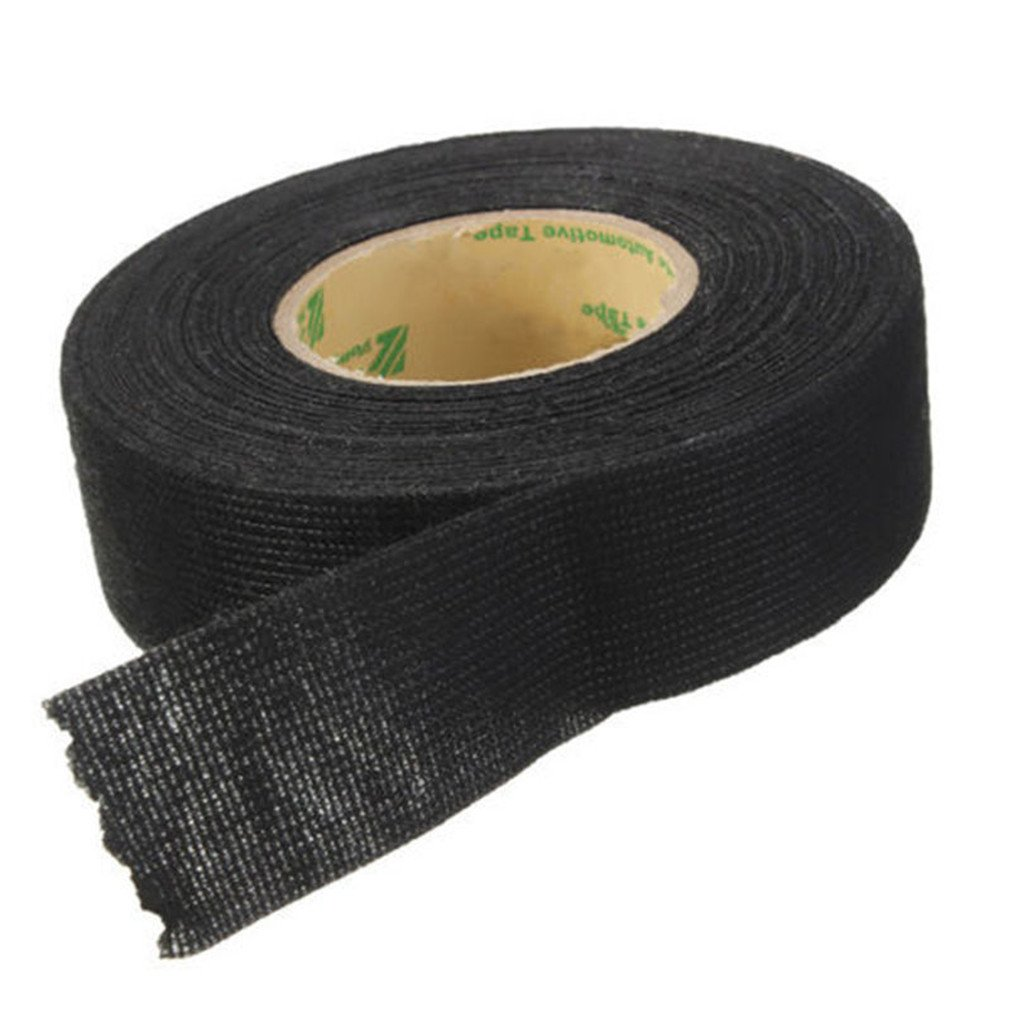 Amazon.com: Vipe Black Flannel 15m Car Auto Wiring Harness Anti Rattle Self  Adhesive Felt Tape: Office Products