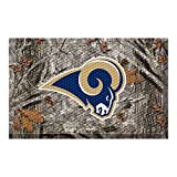 FANMATS 18997 Team Color 19'' x 30'' Los Angeles Rams Scraper Mat (NFL Camo)