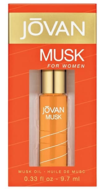 Jovan Musk By Jovan Perfume Oil .33 Oz