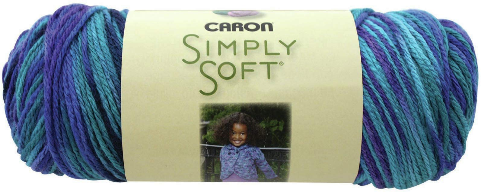 Caron 98064 Simply Soft Paints Yarn-Oceana, Multipack of 12, Pack by Caron (Image #2)