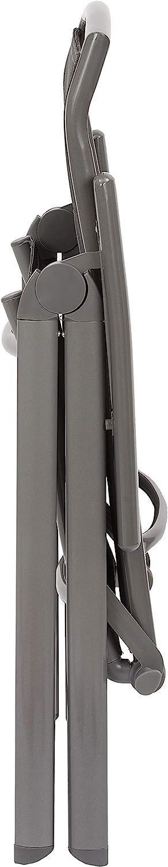 Alluminio Antracite Brubaker Set di 4 Sedia da Giardino Milano Schienale Regolabile in 8 Posizioni Resistente alle Intemperie Sedie con Schienale Alto Pieghevole