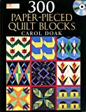 img - for 300 Paper-Pieced Quilt Blocks (Book & CD) book / textbook / text book