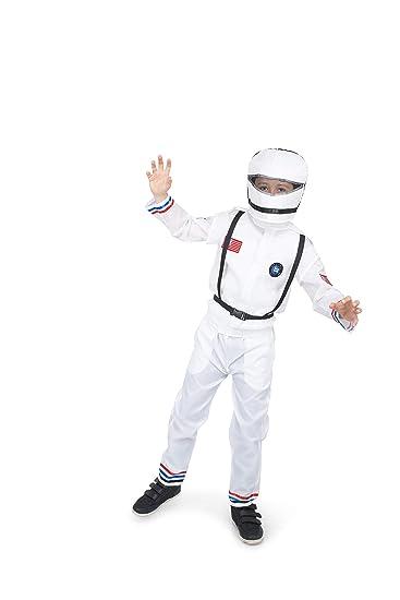 Amazon com: Astronaut Suit and Helmet Costume - Halloween Boy's