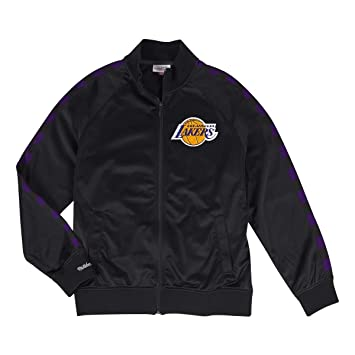 Mitchell & Ness Chaqueta Track Jacket NBA Los Angeles Lakers ...