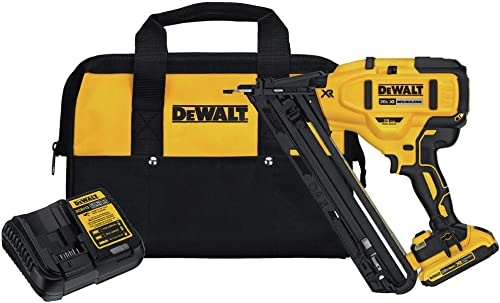 Dewalt DCN650D1R 20V MAX XR 15 Gauge Cordless Angled Finish Nailer Renewed
