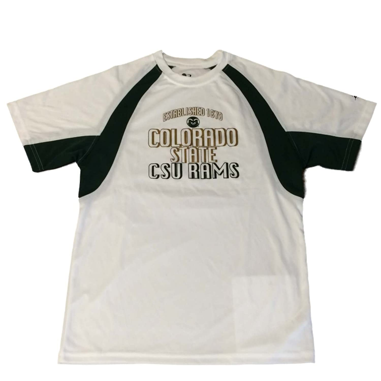 【海外限定】 Colorado M ) State Rams Tシャツ( BadgerスポーツYouthホワイトSSクルーperfomace Tシャツ( M ) B01M0DEAKO, PANACEA:dc82bba5 --- a0267596.xsph.ru
