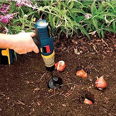 Punta a trivella da giardino Belupai piccola per trapano elettrico