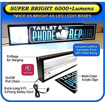 Tattoo Light Box Sign - LED/Neon Alternative HDY