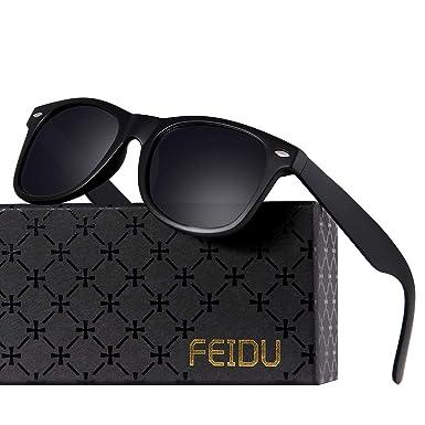 94013a072e5 Polarized Sunglasses for Men Retro - FEIDU HD Vision Polarized Sunglasses  Mens FD2149 (1-