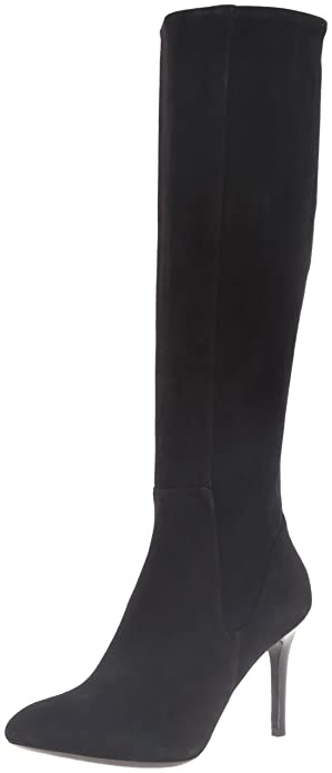 Cole Haan Womens Narelle Slouch Boot       Black Black Suede