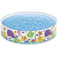 Intex-56452 Piscina Rigida Oceano, Multicolore, 183x38 cm, 56452