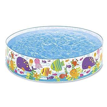 Piscine Per Bambini Rigide.Intex 56452 Piscina Rigida Oceano Multicolore 183x38 Cm 56452