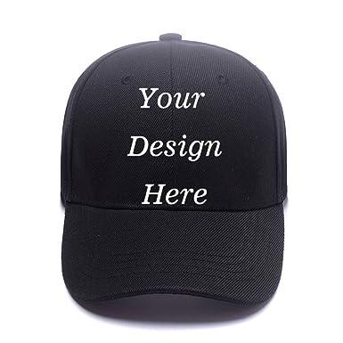 Unisex Cotton Baseball Cap Custom Personalized Adjustable Hat Hats