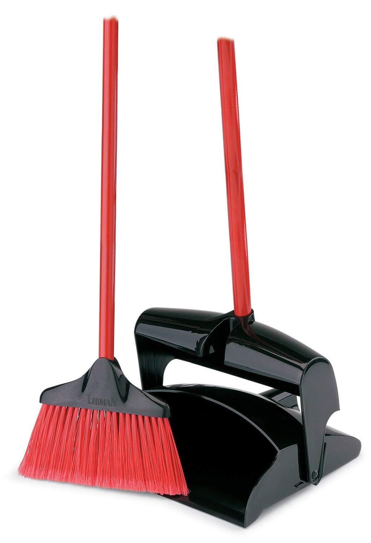 Libman Upright Dust Pan & Lobby Broom