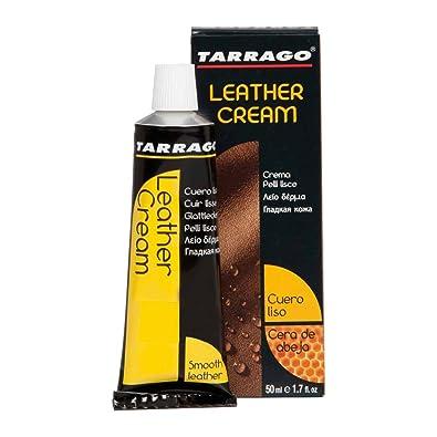 Tarrago Leather Cream Tube, Zapatos y Bolsos Unisex Adulto, Marrón (Dark Brown 06), 50 ml