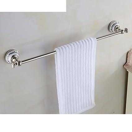 de cobre varilla de porcelana azul y blanca/estante de toalla/barra de toalla