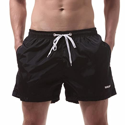 5ff4511ad0 Vicbovo Clearance Sale Mens Quick Dry Swim Trunk Swimming Shorts Beach  Shorts Swimsuit Bathing Suit Watershort