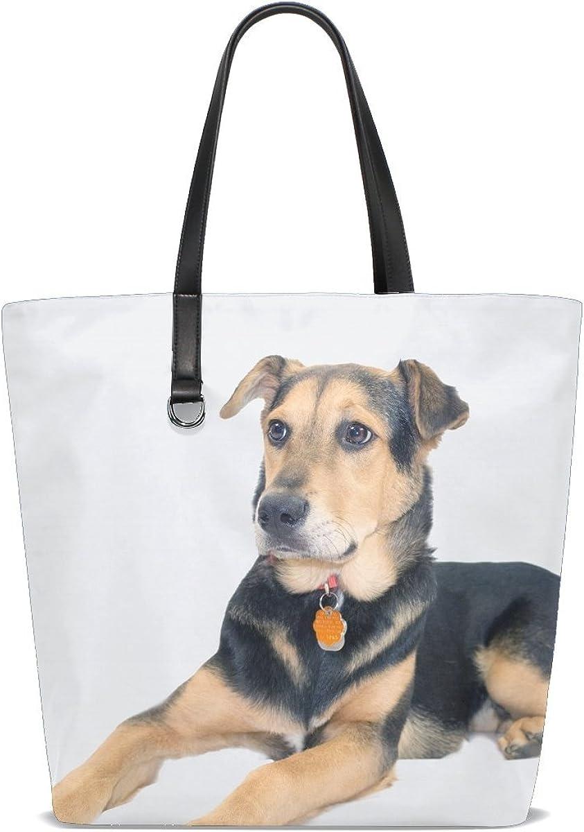 Dog Puppy Cute Tote Bag Purse Handbag For Women Girls