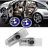 Aomgsd BMW ウェルカムライト カーテシライト ドアカーテシランプ ロゴライト LEDロゴ投影 車用 カーテシ BMW 3/5/7 シリーズ用 2個セット (For BMW)