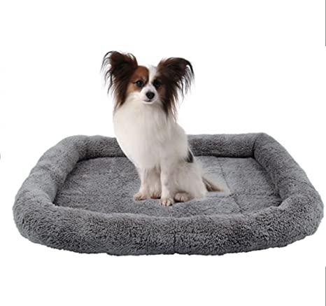 Amazon.com: Cama de perro de mascota rodar cama para ...